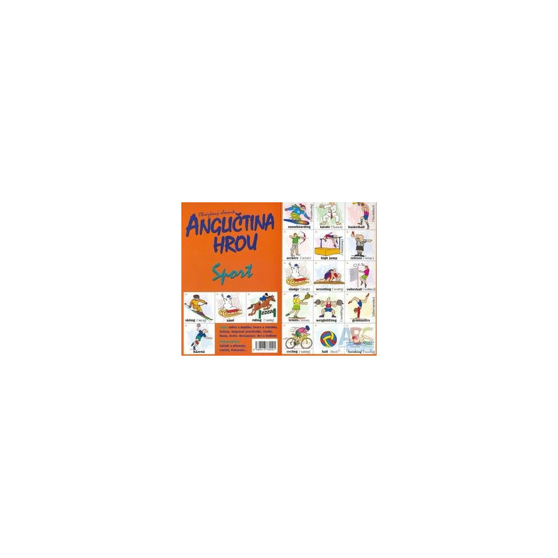 Find the pair game-Sport (Bilingual Memory Cards)