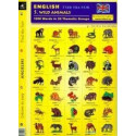 5. Wild Animals- Find the pair game (Bilingual Polish-English Memory Cards)