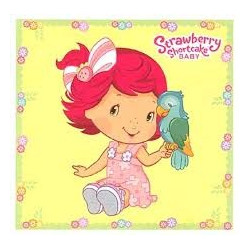 Strawberry Shortcake Baby Colouring Book