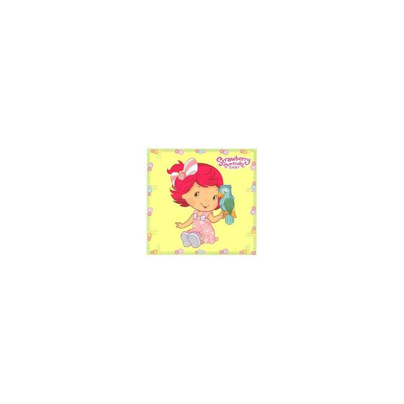 Strawberry Shortcake Baby Colouring Booklet