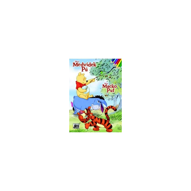 Winnie the Pooh Colouring Book