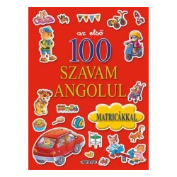 The First 100 English Words with Stickers