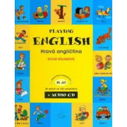 Playing English + Audio CD...