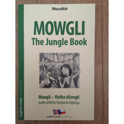 Mowgli Czech English story book (mirror text) language level A1/A2 (Czech/English)