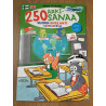 250 Everyday Words in Finnish and English Picture Dictionary for kids + Stickers